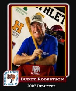 Hall of Fame Profile - BUDDY ROBERTSON