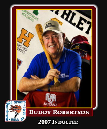 Hall of Fame Profile - BUDDY ROBERTSON