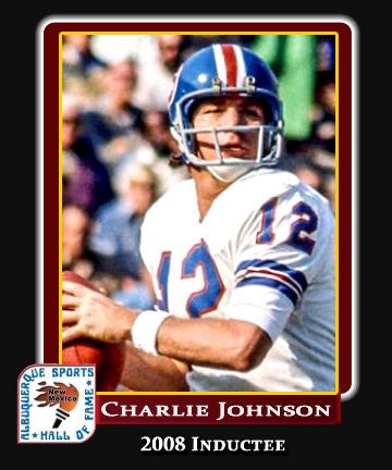 Hall of Fame Profile - Charlie Johnson
