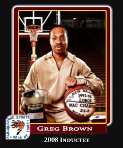 Hall of Fame Profile - Greg Brown