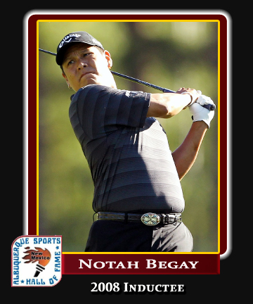 Hall of Fame Profile - Notah Begay