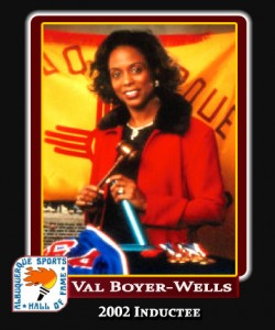 Hall of Fame Profile - Val Boyer-Wells