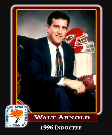 Hall of Fame Profile - Walt Arnold