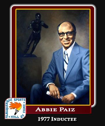 Hall of Fame Profile -ABBIE PAIZ