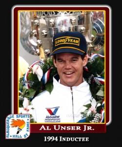 Hall of Fame Profile -AL UNSER JR
