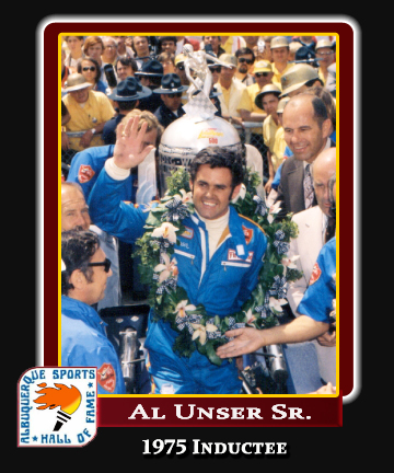 Hall of Fame Profile -AL UNSER SR