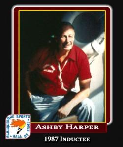 Hall of Fame Profile - ASHBY HARPER