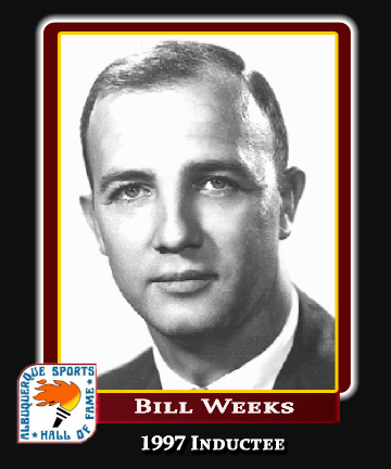 Hall of Fame Profile - BILL WEEKS