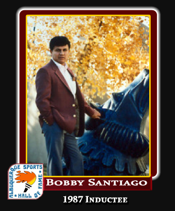 Hall of Fame Profile - BOBBY SANTIAGO