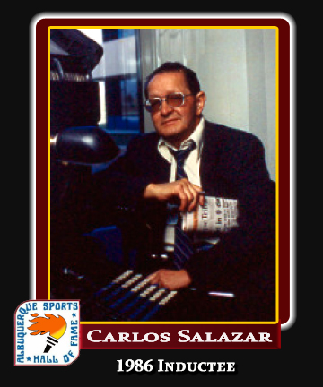 Hall of Fame Profile -CARLOS SALAZAR