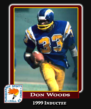 Hall of Fame Profile -DON WOODS