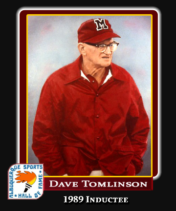 Hall of Fame Profile -Dave Tomlinson