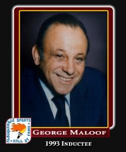 Hall of Fame Profile -George Maloof