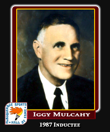Hall of Fame Profile - IGGY MULCAHY