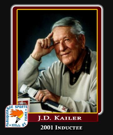 Hall of Fame Profile -JD KAILER