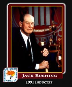 Hall of Fame Profile - Jack Rushing