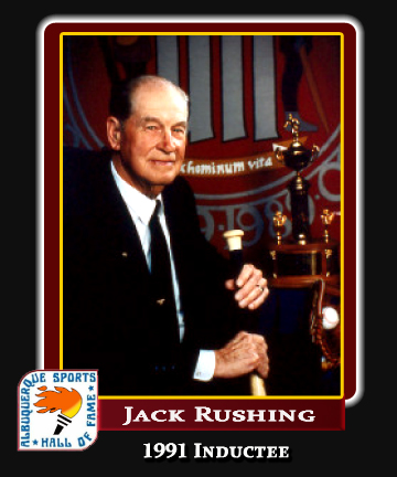 Hall of Fame Profile - Jack Rushing