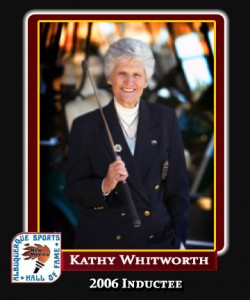 Hall of Fame Profile - KATHY WHITWORTH