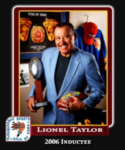 Hall of Fame Profile - LIONEL TAYLOR