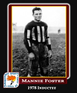 Hall of Fame Profile - MANNIE FOSTER