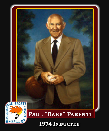 Hall of Fame Profile - PAUL BABE PARENTI