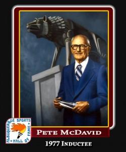 Hall of Fame Profile -PETE MCDAVID