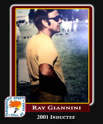 Hall of Fame Profile -RAY GIANNINI