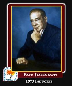 Hall of Fame Profile - ROY JOHNSON