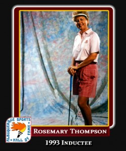 Hall of Fame Profile -Rosemary Thompson
