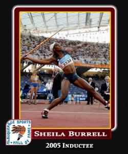 Hall of Fame Profile - SHEILA BURRELL