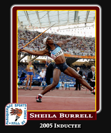 Hall of Fame Profile - SHEILA BURRELL