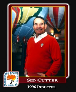Hall of Fame Profile -Sid Cutter