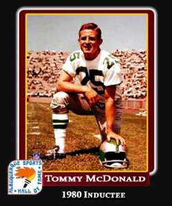 Hall of Fame Profile - TOMMY MCDONALD