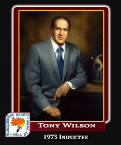 Hall of Fame Profile -TONY WILSON