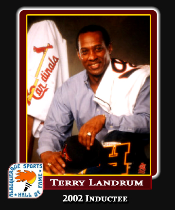 Hall of Fame Profile - Terry Landrum