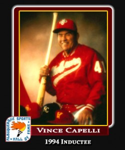 Hall of Fame Profile -VINCE CAPELLI