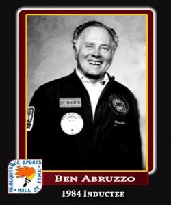 Hall of Fame Profile - BEN ABRUZZO