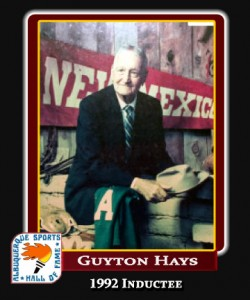 Hall of Fame Profile -GUYTON HAYS