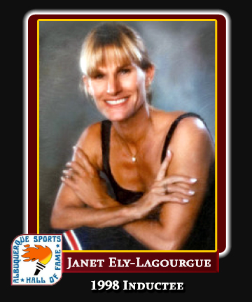 Hall of Fame Profile - Janet Ely-Lagourgue