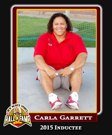 Hall of Fame Profile - CARLA GARRETT