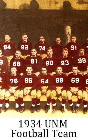 1934 UNM Football Team