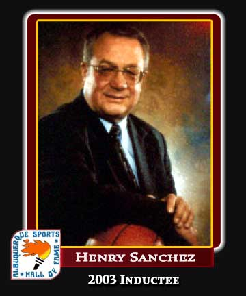 Hall of Fame Profile - HENRY SANCHEZ - BERN